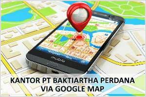 kantor PT Baktiartha Perdana Via Google Map
