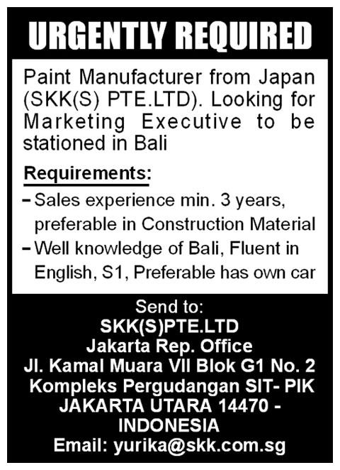 iklan_koran_bali_post_lowongan_marketing_executive